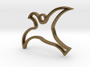 SEA GULL in Polished Bronze