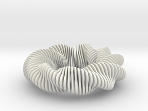 Fusilli 331 in White Natural Versatile Plastic
