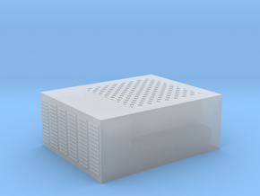 Roof AC Unit (HO Scale) in Smooth Fine Detail Plastic