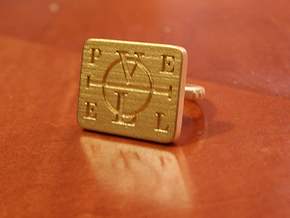 Enochian Adjustable in Matte Gold Steel