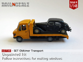 SET Oldtimer Transport (British N 1:148) in Frosted Ultra Detail