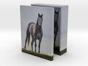 Mustang Tall Box 4in in Full Color Sandstone