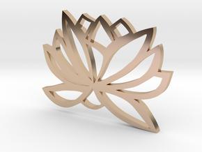 Lotus Design  in 14k Rose Gold