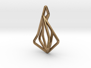 N-Line No.1 Pendant. Natural Chic in Natural Brass