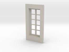 Window type 1 in Natural Sandstone