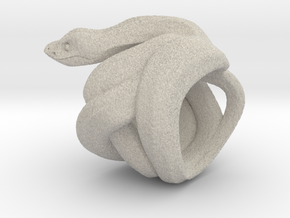 Snake No.2 in Natural Sandstone