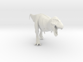 Tyrannosaurus showing off - 1/40 in White Strong & Flexible