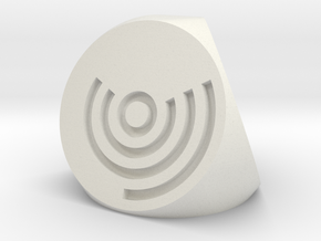 Arc Axis D4 Dice in White Strong & Flexible