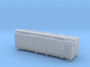 HOn3 MOW Boxcar B in Smooth Fine Detail Plastic