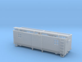 HOn3 MOW Boxcar A in Smooth Fine Detail Plastic