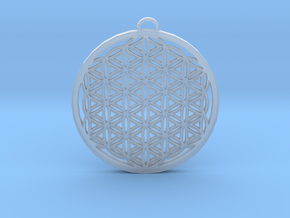 Flower of Life (Large) in Smooth Fine Detail Plastic