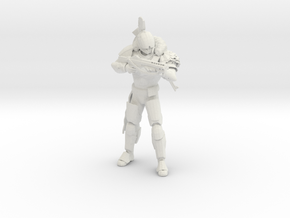 Defender For RebelForce76 in White Natural Versatile Plastic