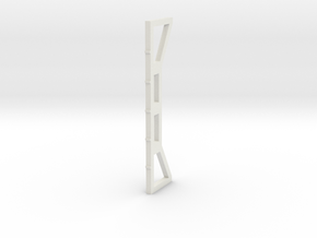 Girder Column in White Natural Versatile Plastic