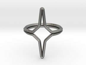 YOUNIVERSAL YY.01, ring US size 3.5, d=14,5mm(all  in Natural Silver: 3.5 / 45.25
