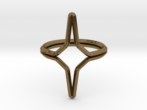 YOUNIVERSAL YY.01, ring US size 3.5, d=14,5mm(all  in Natural Bronze: 3.5 / 45.25