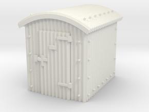 N Gauge - Great Western Railway Lamp Hut in White Natural Versatile Plastic