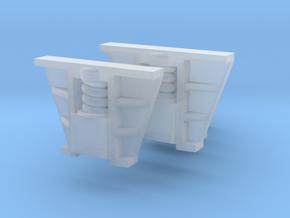 Böksholms lok - Hornblock - 6 st i skala 0 in Smoothest Fine Detail Plastic