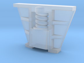 Böksholms lok - Hornblock - 1 st i skala 0 in Smoothest Fine Detail Plastic