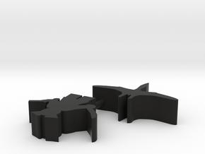 Custom Order 113015 2-set in Black Natural Versatile Plastic