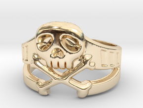 Space Captain Harlock | Ring size 10 in 14k Gold Plated Brass: 10 / 61.5
