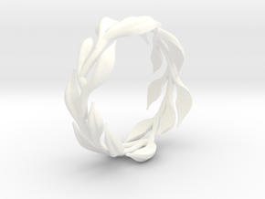 Vine Band -  Size 6.5 in White Processed Versatile Plastic