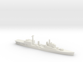 HMS Tiger Helicopter Cruiser, 1/1800 in White Natural Versatile Plastic