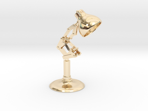 Pixar Lamp in 14K Yellow Gold