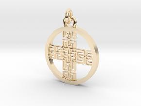 Kelt in 14k Gold Plated Brass