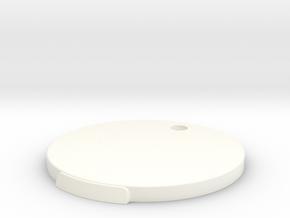 Base V1 for 1/6 scale figure. in White Processed Versatile Plastic
