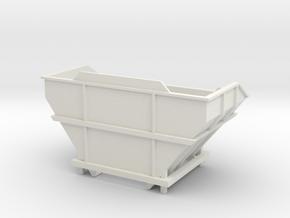 Voegele Kontainer für Deckenfertiger WSI 1:50 in White Natural Versatile Plastic: 1:50