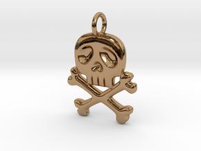 Space Captain Harlock | Pendant in Polished Brass