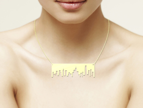 Design Hong Kong Skyline in Polished Brass