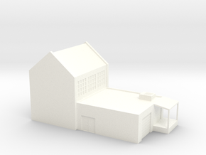Small Factory (HO Scale) in White Processed Versatile Plastic