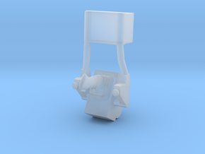 F12E-Folded ATCA Armrest-CDR Side in Smooth Fine Detail Plastic
