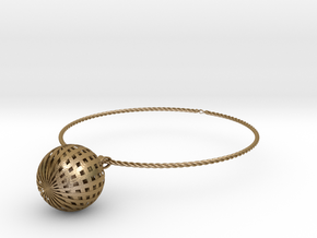 Ballin chain in Polished Gold Steel