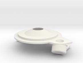 Marmon Water Pump COVER REV B  in White Natural Versatile Plastic