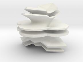 Hyper-Costa in White Natural Versatile Plastic