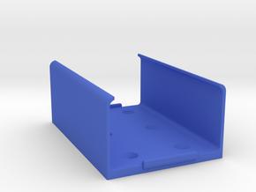 OMEX 600/200 ECU Holder - Clip-In Type in Blue Processed Versatile Plastic