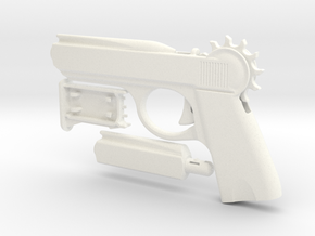 "The Loom Launcher ""Spy"" in White Processed Versatile Plastic"