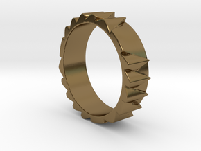 Spitzenring Ring Size 10.5 in Polished Bronze