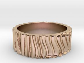 CurvedForrest Ring Size 10.5 in 14k Rose Gold