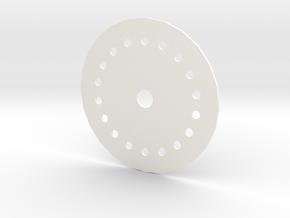 Nespresso Vertuoline Refil Cap in White Processed Versatile Plastic