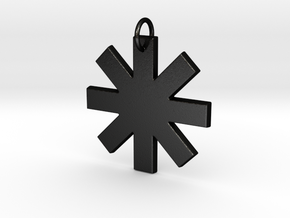 Creator Pendant in Matte Black Steel