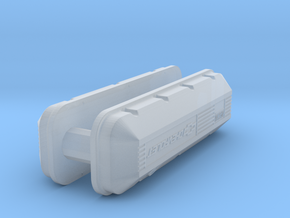 1/32 BBC 502 Logo Valve Covers in Frosted Ultra Detail