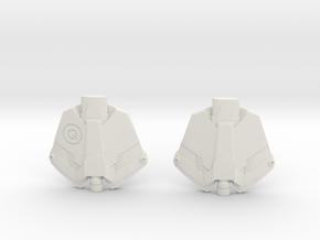 TASM 2 Web Shooters in White Natural Versatile Plastic