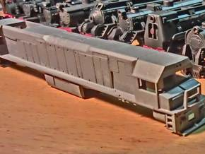 "Toll Rail DK-2 Locomotive Proposal ""A"" in Smooth Fine Detail Plastic"