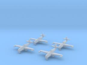 1/350 Yakovlev Yak-23 (landing gear down) x4 in Smooth Fine Detail Plastic