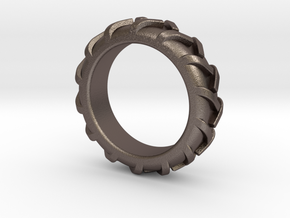 Rings - Part 5.1 in Polished Bronzed Silver Steel