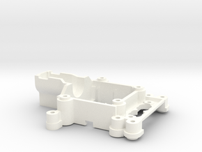 Myproto V5B Front End for Kyosho MR-03 servo compo in White Strong & Flexible Polished