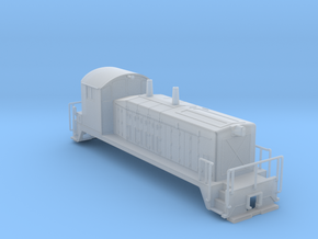 EMD SW7 N Scale  in Smooth Fine Detail Plastic